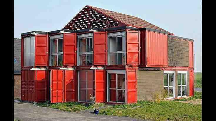 Quel conteneur pour une maison ?