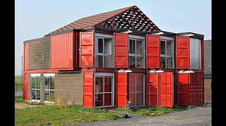 Quel conteneur pour une maison?