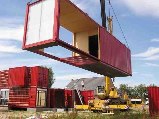Quelle est la base d'une maison conteneur?